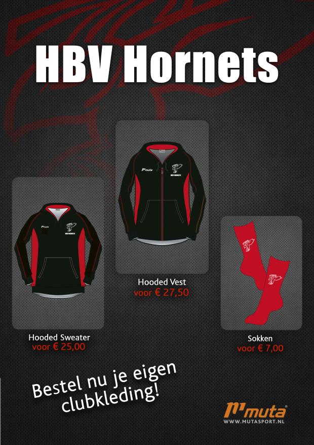 Flyer HBV Hornets clubkleding
