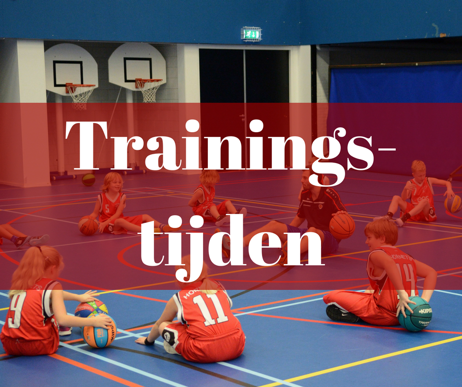 HBV Hornets - Trainingstijden